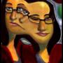 Warped Self Portrait