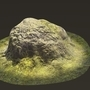 Moss Rock Render by Zooloo75