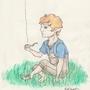 Smoking Hobbit by TariC