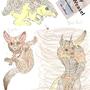 Odorymon: Dust Bunny, Fleavea by EmoImpaler