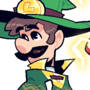 COMMISSION: Wizard Luigi