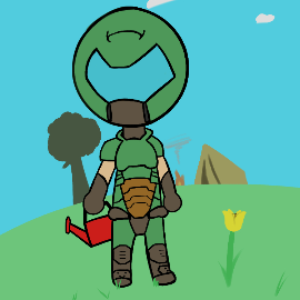 Doom Slayer Villager By Demonwithahat On Newgrounds