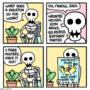My life as a skeleton. [4]
