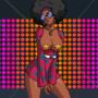 Imani hits the disco