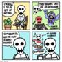 My life as a skeleton. [5]