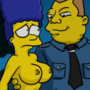 Marge and the guards