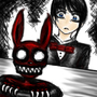 Demented Bunny by exninja123