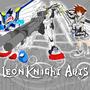 Leonknight arts wallpaper (NEW by evolvd-studios