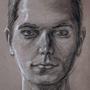 Charcoal Self-Portrait by LegendofDelza