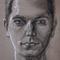 Charcoal Self-Portrait