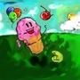 icecream and cherry by kibiro
