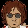John Lennon by up-a-notch