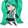 Chibi Miku by dragonrider4567