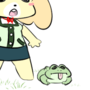 Isabelle and Frog