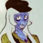 Celtic Punk Blue Diamond