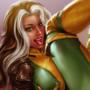 Rogue X-Men pinup