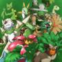The Grass Starters' Final Evolution