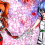 Rei & Asuka Fanart by KanakoAyume