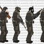 Flashsoldiers Mercenaries by Flashsoldier