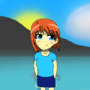 [TT] GIRL AT BEACH by BananaTrash