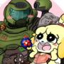 DoomGuy and Isablle