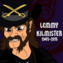 Lemmy Kilmister Strumming The Bass