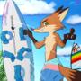 Zootopia '86 - Surfer Nick