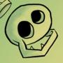 Wavering Tooth Skull