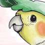 leaf pompadour