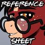 Reference Sheet - Pepper (stallion)