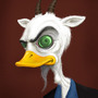 Professor Goatduck by ken9000