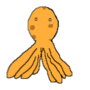 Animated Pixel Octopus