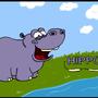 Benjamin the Happy Hippo by Mieshka