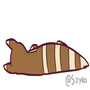 Animated gif: Just a Furret being Furret