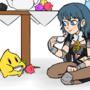 Rosalina and Byleth Tea Party