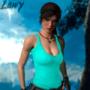 Lara Croft Posing