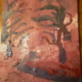 Acrylic Painting #8 tortured forest