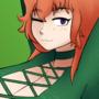Ertha's Green Dress