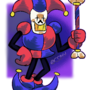 Jevil and Papyrus combined in one character