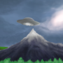 Guy seeing a UFO