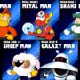 5 Robot Masters by JonBro
