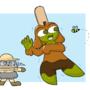 OH NO A BEE
