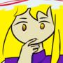 Yukari is thinking