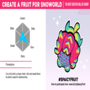 Create a fruit for Snoworld