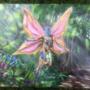 Fairy Friend Metalic Acrylics on Canvas