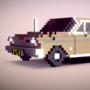 1964 Chevrolet Chevy II / Nova - Voxel