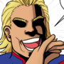 All Might - Noblewoman Laugh [Commission]
