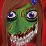 Girl Zombie Head by JackDCurleo