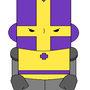 Purple Castle Crasher by Kakamira