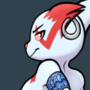 Female anthro Zangoose {Commission}
